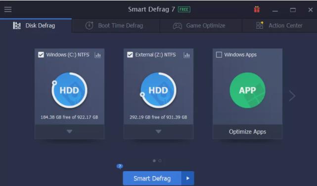 smart defrag software