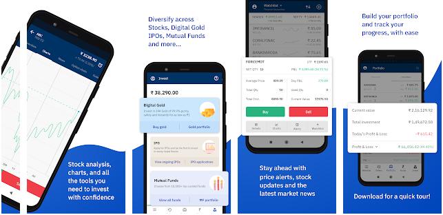 upstox stock market app