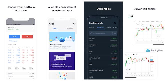 zerodha stock app