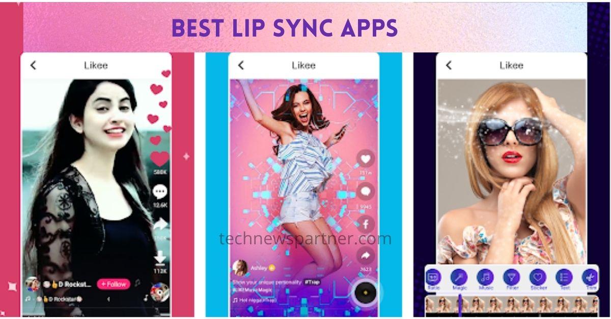 Best Lip Sync Apps