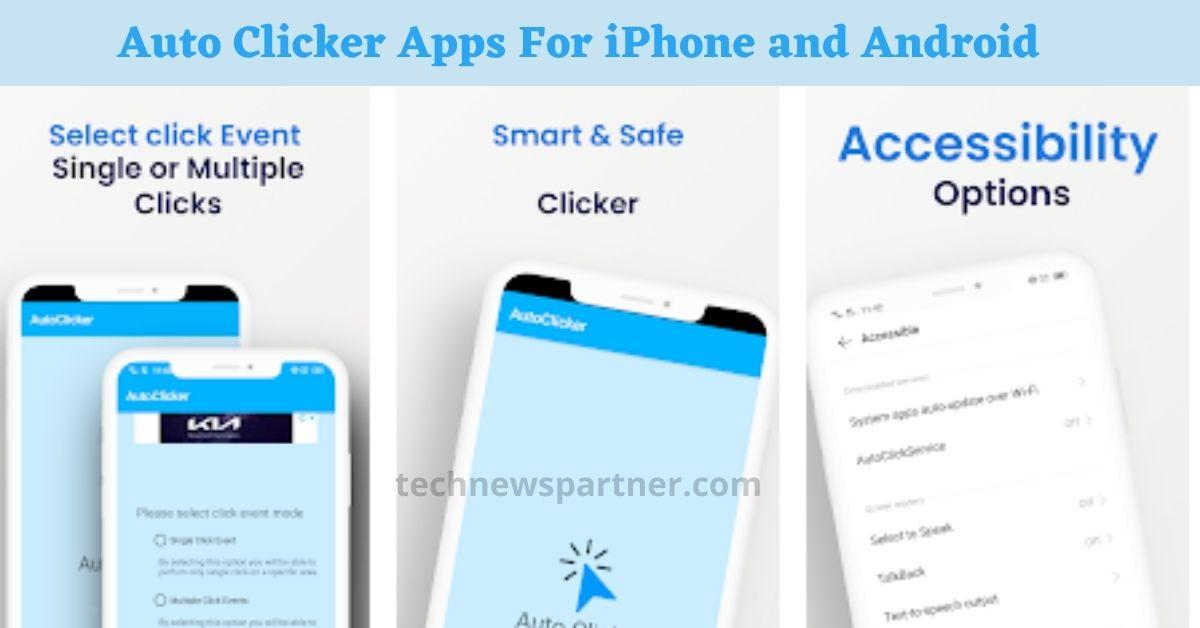 Auto Clicker For iPhone